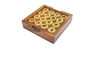 Portable Traditional Wooden Chinese Chess Game Set
