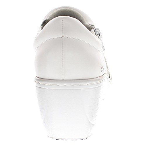 Milana Spring White Spring Step Womens Leather Step Pro Womens Pro Clogs Szqp0E