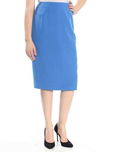 Kasper Women's Pencil Skirt (8, Cabana Blue)