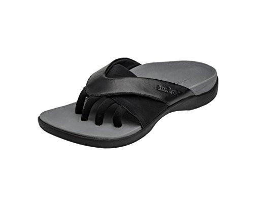 Wellrox Women's Evo-Grasp Black Casual Sandal 11 by Wellrox