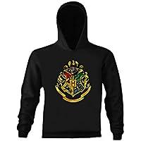 ART T-SHIRT-Harry Potter Hogwarts Unisex Kapüşonlu Sweathirt