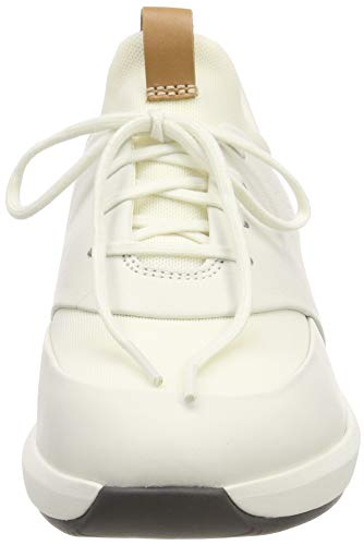 Donna Leather white Lace Rio Derby Stringate Clarks Un Scarpe Bianco TYvPZq