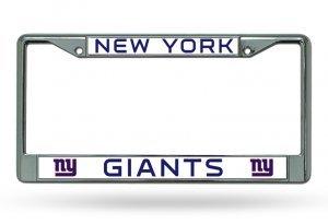 NFL New York Giants Chrome Plate Frame ()