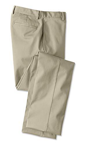 Orvis Men's Wrinkle-Free Cotton Stretch Chinos, Khaki, 40W X 34 1/2 L