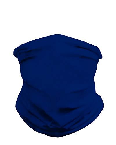 INTO THE AM Seamless Face Mask Bandanas – Multi-Functional Full-Coverage Tube Bandanas