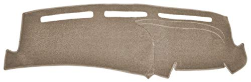 Custom Dash Cover Mat - Compatible with 1978-1979 Ford Full Size Bronco (Carpet, Taupe)