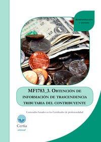 Descargar Libro Mf1783_3 Obtención De Información De Trascendencia Tributaria Del Contribuyente Ángela María Cal Arca