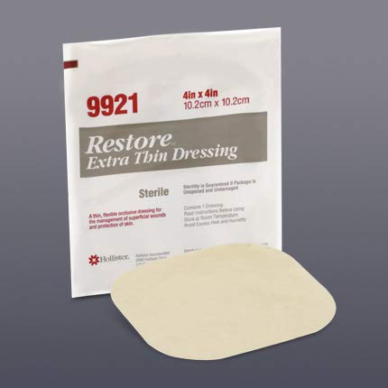 Restore® Extra Thin Hydrocolloid Dressing-Size: 4