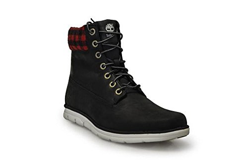 8 de Botte 6 pouces Check Black Timberland Mens UK TAwU66