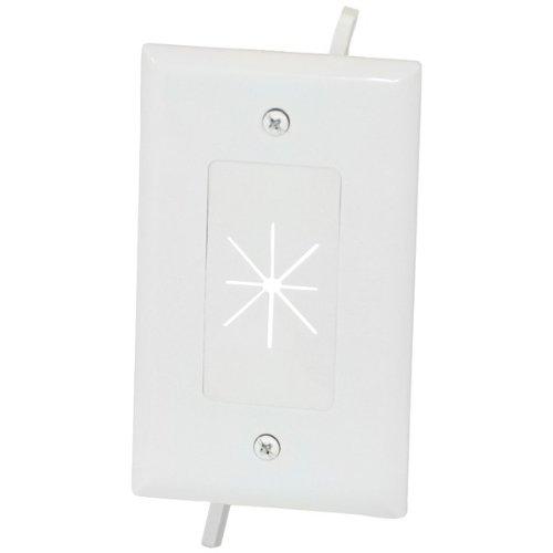 Datacomm Electronics 45-0014-Wh Cbl Plate W Flex 1Gng ()