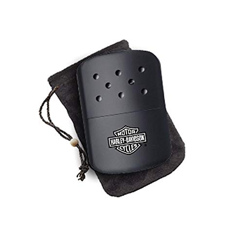 Harley-Davidson Hand Warmer Black - Clam Zippo Outdoors 4031