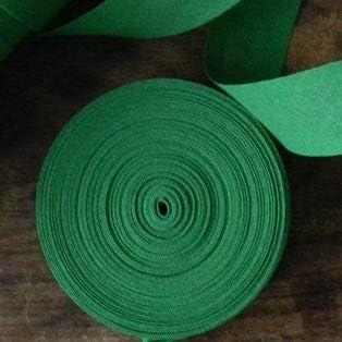 Cinta al bies, 25 mm, 100% algodón, hierba verde, 10 m: Amazon ...