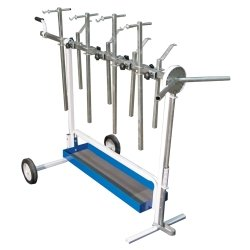 Astro Pneumatic (AST7300) Universal Rotating Super Work Stand for Paint and Body