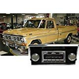 (Custom Autosound Stereo compatible with 1968-1972 Ford Truck, USA-630 II High Power 300 watt AM FM Car Stereo/Radio)