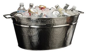 TableCraft Products RBT2314 Oval Beverage Tub Stainless Steel 23'' x 14'' x 9'' by Tablecraft