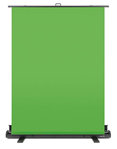 7' Shadow Box Picture Frame - Elgato Green Screen - Collapsible chroma key panel for background removal with auto-locking frame, wrinkle-resistant chroma-green fabric, aluminum hard case, ultra-quick setup and breakdown