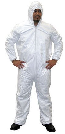 SAS Safety Hooded Coverall Medium