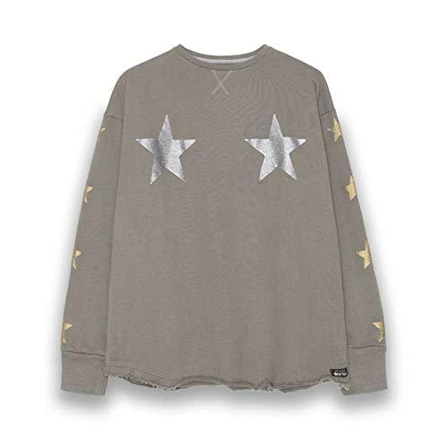 Dear Tee Sudadera Star Glitter Green (XS)