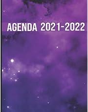 Agenda 2021 2022: Agenda de Aout 2021 à Juillet 2022 . Pour Étudiants Collège et Lycée . A4 Planificateur grand format ....