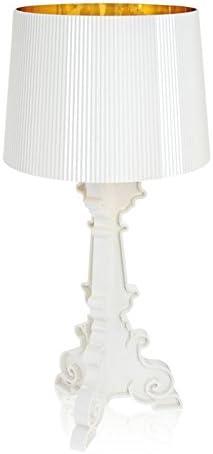 Kartell Bourgie bianco oro | Lampade da tavolo, Lampade