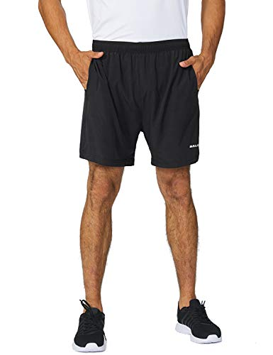 Brooks Mens Running Shorts - Baleaf Men's 5 Inches Running Athletic