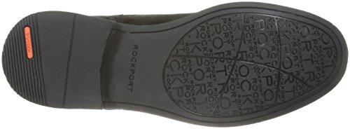 Rockport Uomo Classic Boot Chukka Boot In Pelle Scamosciata Nera