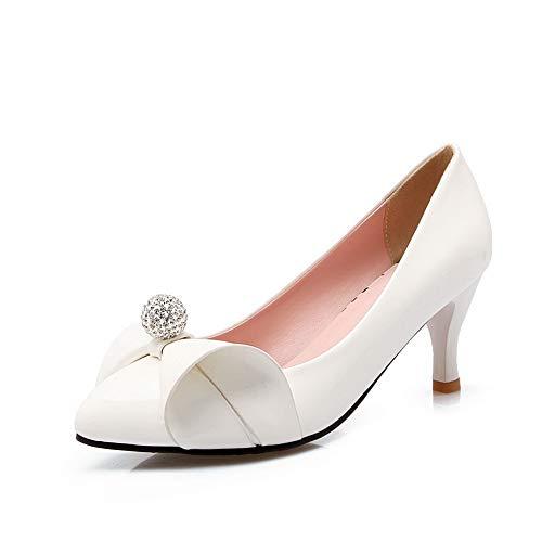 White con Zeppa DGU00677 35 AN Donna Sandali Bianco YqPFn8