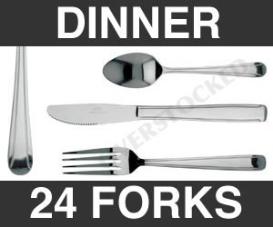 WHOLESALE - 2 DOZEN DOMINION DINNER FORK