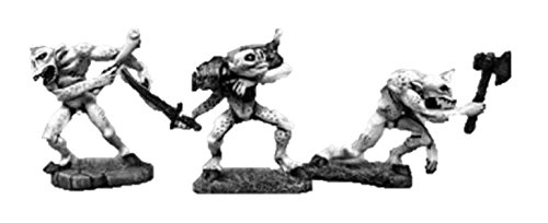 Call of Cthulhu Miniatures: Armed Ghouls (3)