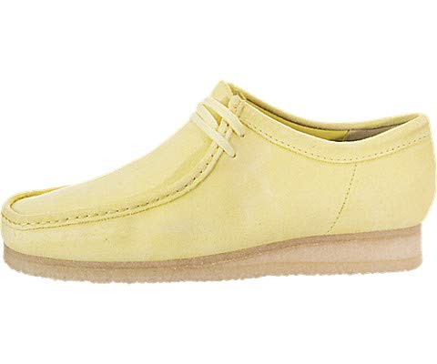 CLARKS Wallabee Mens Shoes Pale Yellow 26139180 (10.5 D(M) US)