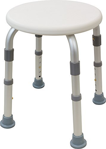 Viverity B103-3R Adjustable Bath/Shower Stool by Viverity