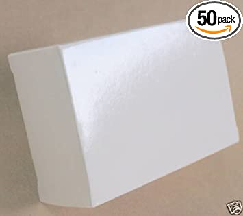 Amazon white gift box glossy small wedding party favor boxes white gift box glossy small wedding party favor boxes lot of 50 thick heavy cardstock bulk reheart Gallery