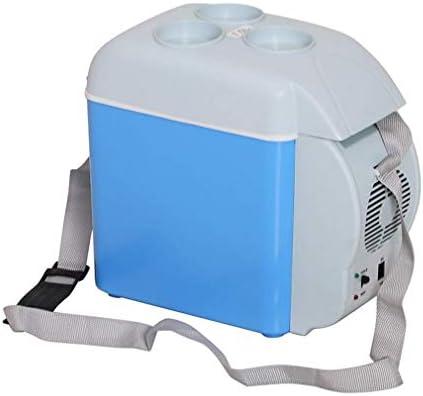 カー冷蔵庫、7.5 Lミニ冷蔵庫ポータブルエレクトリッククーラーボックスウォーマー冷凍庫アウトドアキャンプピクニック旅行クーラー冷凍庫アイスボックス