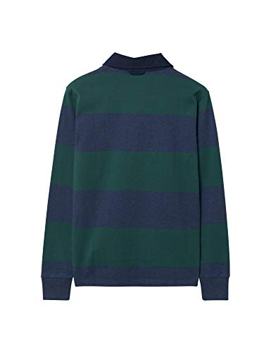 Long Top Rugger The Fairway Heavy Sleeve Men's Gant Green 339 Original Barstripe cqySwOZOUY