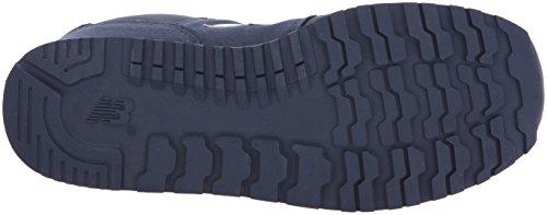 New Balance Unisex Baby 373v1 Sneaker Navy/Red