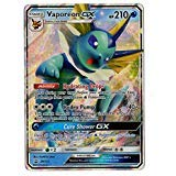 - Vaporeon GX - SM172 - Special Collection Box - Holo Rare Promo Card