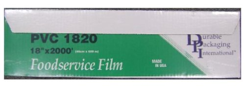 Durable Packaging PVC Film Roll, 18