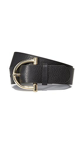 B-Low The Belt Women's Blake Belt, Black/Gold, Medium by B-Low the Belt
