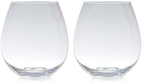 The Stemless Big Betty Xl Premium Jumbo Wine Glass Holds A Whole Bottle Of Wine Amazon Co Uk Kitchen Home