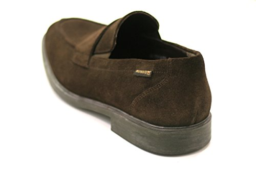 Mephisto Men's Loafer Flats Dark Brown klk0XLFaAI