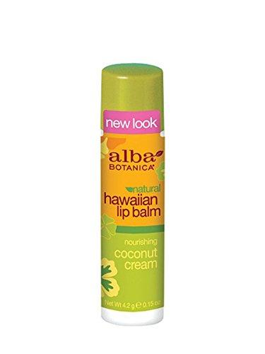 (Alba Botanica Lip Balm Coconut Cream)