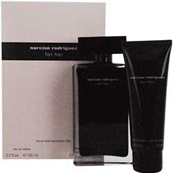 NARCISO RODRIGUEZ by Narciso Rodriguez EDT SPRAY 3.4 OZ & BODY LOTION 2.5 OZ (TRAVEL OFFER) by Narciso Rodriguez