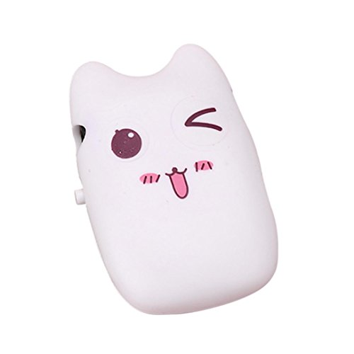 Portable MP3 Player, Jiayit Cartoon Portable Mini USB Clip Digital Mp3 Music Player Support up to 8GB SD TF Card (D)