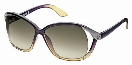 Just Cavalli Women's JC398S Injected Sunglasses GREEN 60 by Just Cavalli