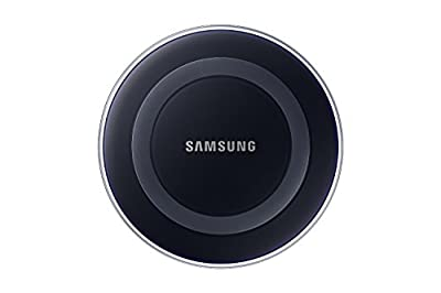 Samsung Wireless Charging Pad with 2A Wall Charger w/ Warranty - Frustration Free Packaging, Black Sapphire by Samsung Electronics