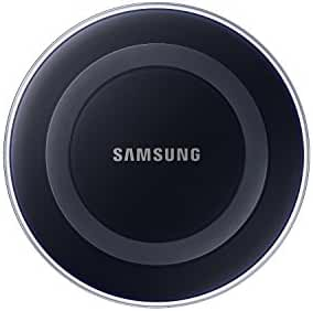 Samsung Wireless Charging Pad with 2A Wall Charger w/ Warranty -  Frustration Free Packaging, Black Sapphire