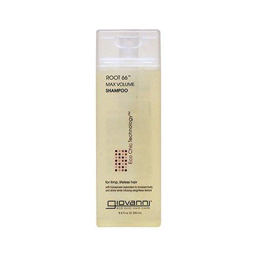 Giovanni Cosmetics Root 66 Max Volume Shampoo, 8.5 -
