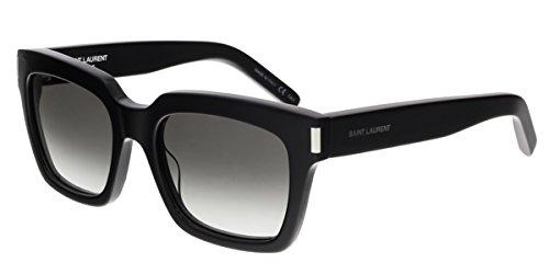 Saint Laurent Women's Bold 1 Black/Grey Gradient - Laurent Saint Womens Sunglasses