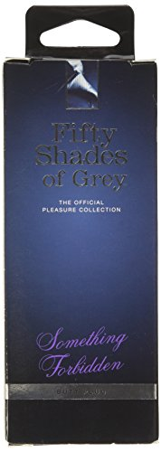 Fifty Shades Of Grey Something Forbidden Butt Plug