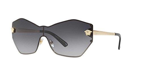 Versace Womens Sunglasses Gold/Grey Metal - Non-Polarized - - Sunglasses 43